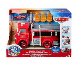 Детски комплект за игра Колите 3 - Пожарникарски камион и количка с промяна на цвета GPH80