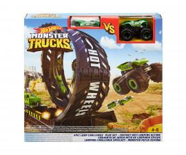 Hot Wheels - Игрален комплект епичен лупинг с голямо бъги Monster