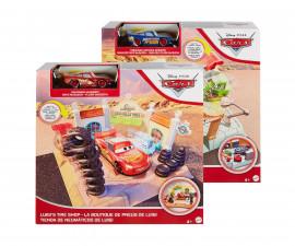 Детски комплект за игра Колите 3- Работилница за смяна на цвета с количка, GTK82