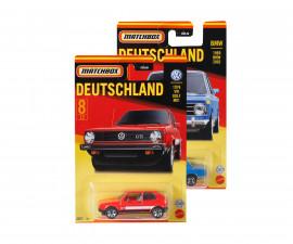 Колекционерски колички за момчета Matchbox - Най-добрите автомобили на Германия, 1:64 GWL49