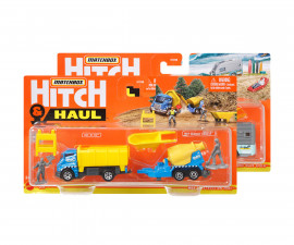 Игрален комплект превозно средство с ремарке/теглич Matchbox, асортимент H1235