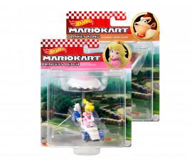 Количка за момчета Hot Wheels - Планер Mario Kart, асортимент GVD30