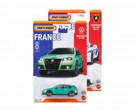 Колекционерски колички за момчета Matchbox - Най-добрите автомобили на Франция, 1:64, асортимент HBL02