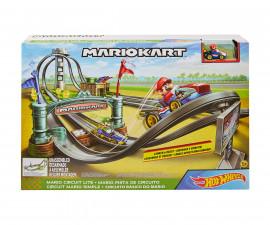 Игрален комплект за деца Hot Wheels - Супер Марио: Лека писта GHK15