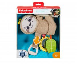 Бебешка играчка за количка ленивец Фишър Прайс