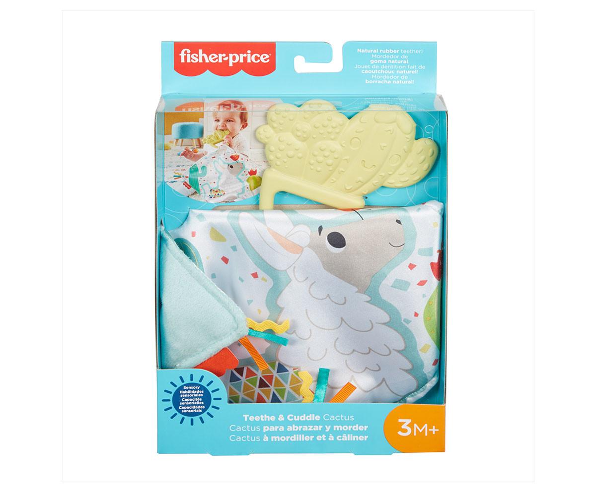 Детско меко одеялце за гушкане Фишър Прайс, кактус