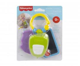 Бебешка играчка дрънкалки и чесалки Fisher Price GWW64 Дрънкалка ключодържател Fisher Price