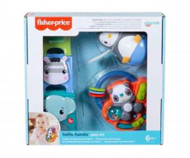 Игрален комплект за бебета и деца Fisher Price Hello Senses, 6м+ HFJ93