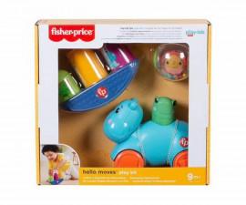 Игрален комплект за бебета и деца Fisher Price Hello Senses, 9м+ HFJ94