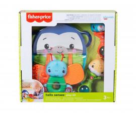 Игрален комплект за бебета и деца Fisher Price Hello Senses, 3м+ HFJ92