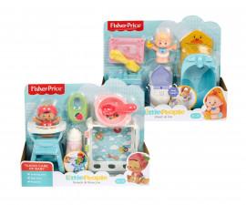 Комплект за игра Fisher Price, грижа за бебето, асортимент