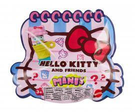 Игрален за комплект за момичета Hello Kitty - Малка фигурка 3в1 (печат, топер, ключодържател) GVB10