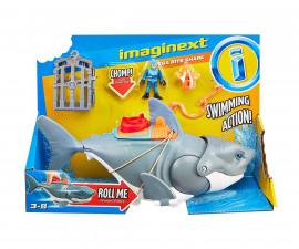 Детска забавна играчка Imaginext: Мега захапка на акула GKG77