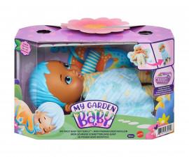 My Garden Baby: Плюшена кукла бебе пеперудка, със синя коса HBH38