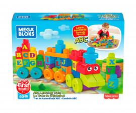 Детски комплект за игра конструктор влакче Мега Блокс