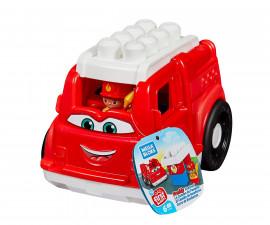 Детски комплект за игра конструктор пожарен камион Мега Блокс