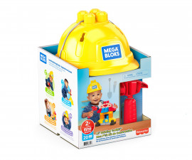 Игрален комплект за деца конструктор с каска Mega Bloks GNT91