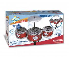Комплект барабани със стол, 4 елемента