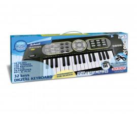 Музикален инструмент за деца - Електронен синтезатор 37 клавиша и USB Bontempi 15 3220