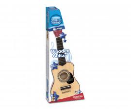 Музикален инструмент за деца - Класическа дървена китара 53см Bontempi 21 5330
