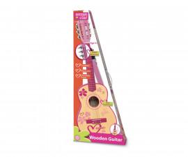 Музикален инструмент за деца - Класическа дървена китара 75см Bontempi 22 7571