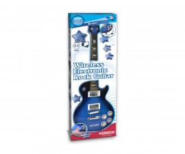 Музикален инструмент за деца - Електронна рок китара с безжична връзка Bontempi 24 1410