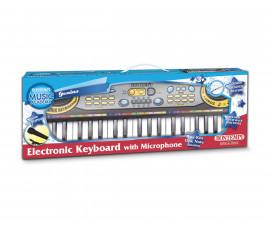 Детска музикална играчка електронен синтезатор с 37 клавиша Bontempi 12 3730