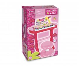 Детска музикална играчка синтезатор с 24 клавиша и микрофон Bontempi 13 2410
