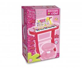 Детска музикална играчка синтезатор с 24 клавиша и микрофон Bontempi 13 2471