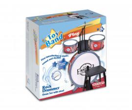 Детска музикална играчка барабан със стол Bontempi 51 4511