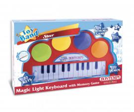 Музикален инструмент за деца синтезатор с магически светлини Bontempi 12 2240