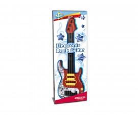 Музикален инструмент за деца - Електронна рок китара Bontempi 241110