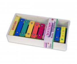 Музикален инструмент за малки деца - Дървен ксилофон Bontempi 560810
