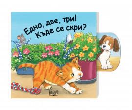 Занимателни книги на Издателство Фют -Плъзни - едно, две, три: Къде се скри?
