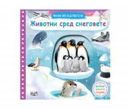 Образователни книги на Издателство Фют -Малки изследователи: Животни сред снеговете