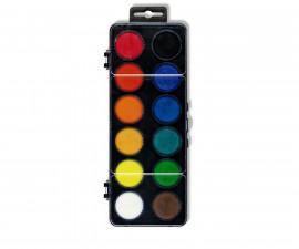 Комплект водни бои Koh-i-Noor, 12 цвята