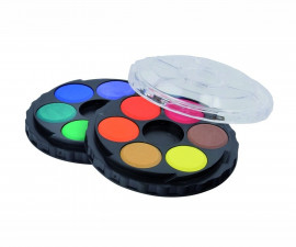 Комплект водни бои Koh-i-Noor, 22.5мм., 12 цвята