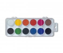Комплект водни бои Koh-i-Noor, 30мм., 12 цвята