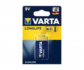 Алкални батерии VARTA Longlife Exra (9V), 1 брой 070304