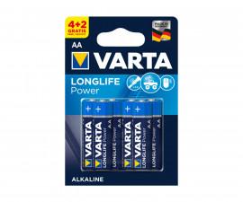 Алкални батерии VARTA High Energy (AA), 4+2 броя 070209