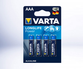 Батерии VARTA POWER LR03 (AAA) 1.5V, 6+2 броя