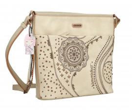 Дамска чанта Anekke Kimmidoll, 26 x 8 x 27 см., бежова