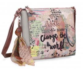 Дамска чанта Anekke Jungle, 23 x 7 x 22 см.