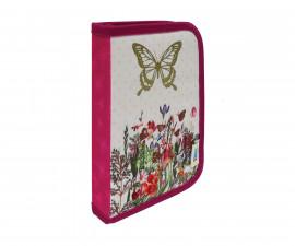 Детски несесер Street Butterfly, 1 цип, 1 преграда, пълен