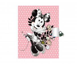 Бележник с катинарче Disney Minnie, A5, 80 листа