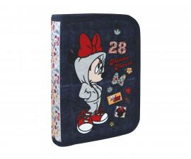 Детски несесер Disney Minnie, 1 цип, 1 прегради, 20.5x13.5x4.5 см.