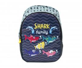 Детска чанта Street Sharky, 24x15x34 см.