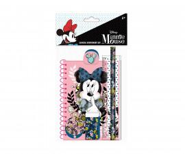 Комплект за училище Disney Minnie, 6 части