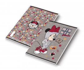 Тетрадка за писане Minnie, А5, бели листа, 54 листа