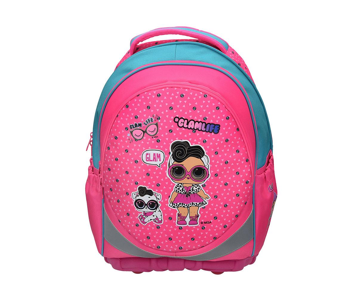 Детска ергономична чанта LOL, 34 х 18 х 46 см.